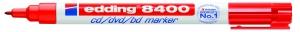 CD/DVD/BD marker edding 8400-02 rood