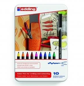 Color pennen edding 1200 pennenset 10