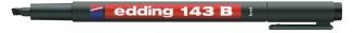 Permanent marker edding 143B-01 zwart